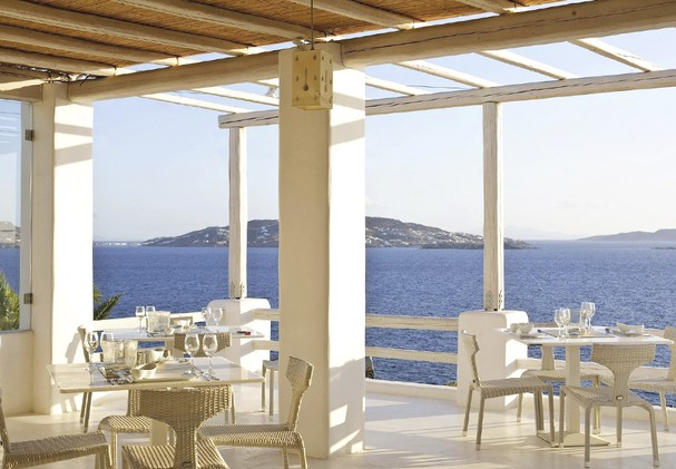 Breakfast and Dining on the Terrace