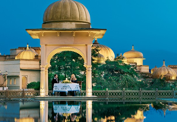 The Oberoi Udaivilas - Spa Pool