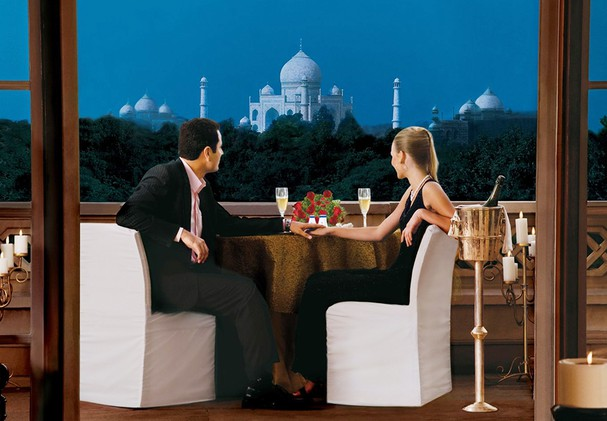 The Oberoi Amarvilas - Private Balcony Dining