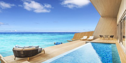 Overwater Villa with Pool