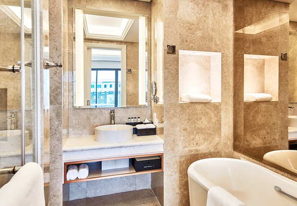 Bathroom for Deluxe Rooms and Suites