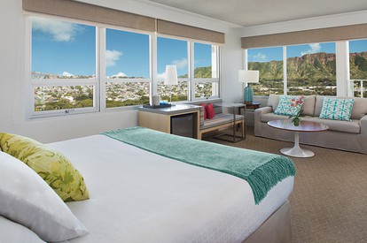 Diamond Head View Balcony Room (King)